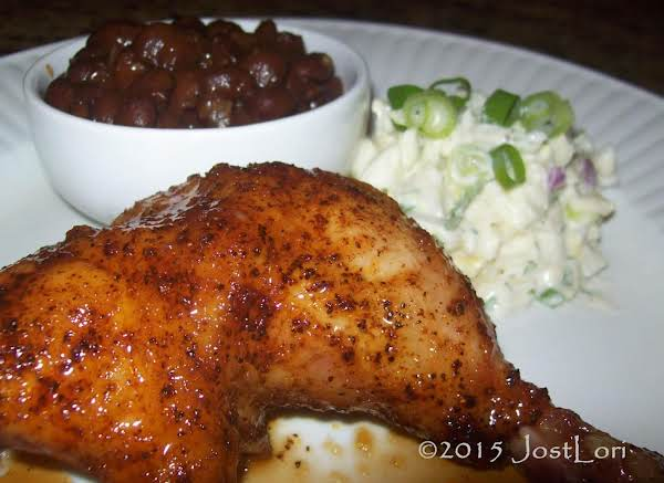 Ginger Beer Can Chicken With Ginger Ale Glaze