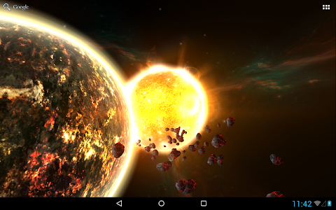 Fire Planet 3D XL screenshot 5