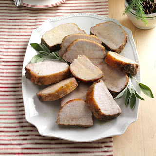 Pork Roast with Herb Rub Recipe