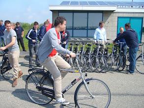 Photo: Op de fiets richting Den Hoorn