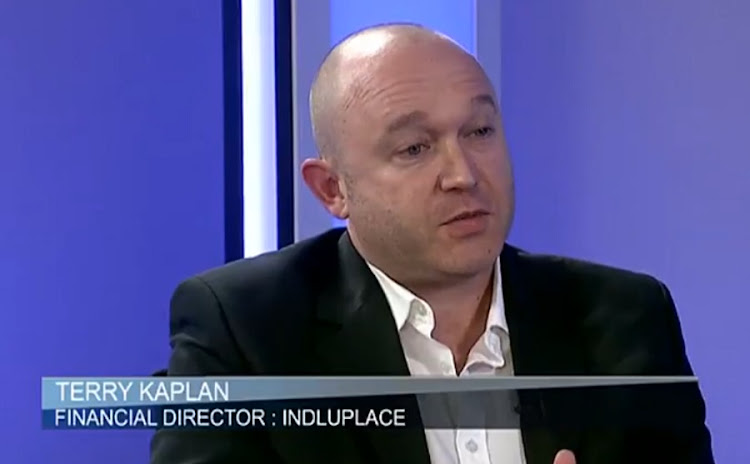 Indluplace financial director Terry Kaplan. Picture: BDTV