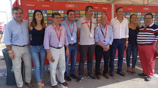 Ambientazo en Roquetas con La Vuelta