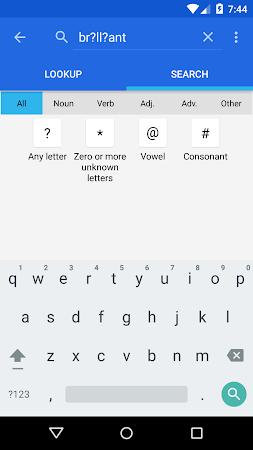Dictionary - WordWeb 3.2 screenshot 222887