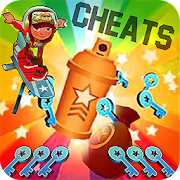 Cheats for Subway surfers (Unlimited Keys & Coins)