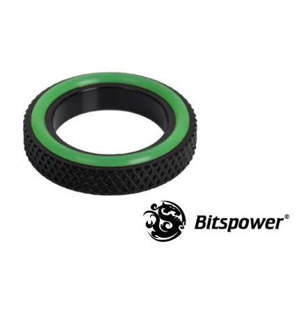 """Bitspower distansestykke for 1/4""""BSP, Matt Black"""