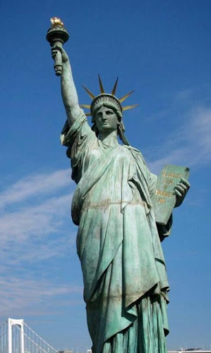 自由の女神の壁紙の像