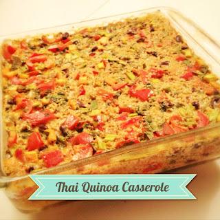 Thai Quinoa Casserole– Gluten and Dairy Free.