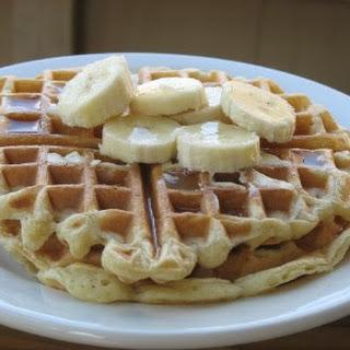 Simple Yogurt Waffles.