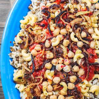 Egyptian Koshari Recipe.