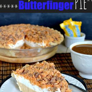 Peanut Butter Butterfinger Pie.
