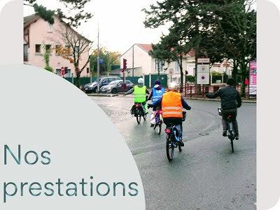 Cours vélo urbain balade vélo accompagnée