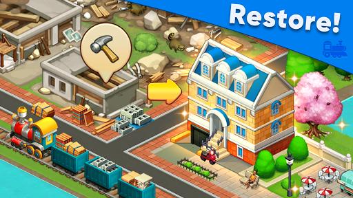 Train town - 3 match merge magic puzzle games screenshots 2