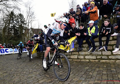 Luke Rowe moet passen voor Omloop Het Nieuwsblad en Kuurne-Brussel-Kuurne