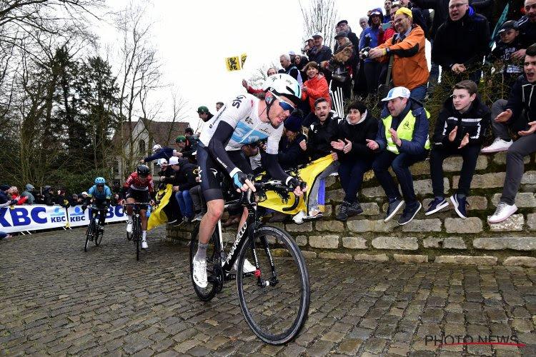 Ook dit jaar zal het niets worden voor kandidaat-winnaar van Omloop en Kuurne