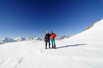 Photo: S řadou 4ek nad Zermattem - vrcholy Monte Rosy, Lyskamm, Castor, Polux, Breithorn a Matterhorn