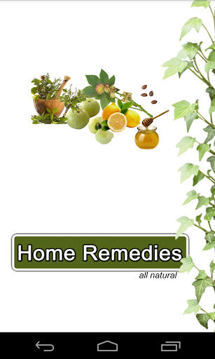 Home Remedies All Natural