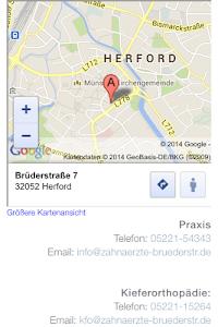 Praxiszentrum Brüderstr. screenshot 2