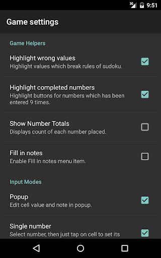 Open Sudoku screenshots 21