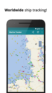Marine Traffic Radar - Ship tracker - náhled