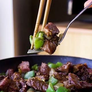 Black Pepper Beef (GF, Paleo, Oil-Free, Dairy-Free, Nut-Free)
