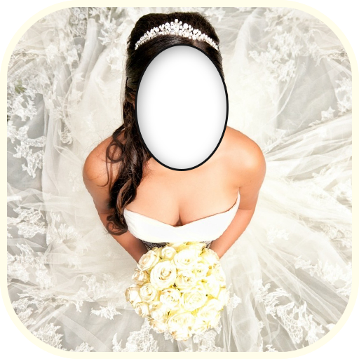 Wedding Dress Photo Montage Icon