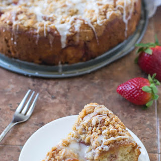 Strawberry Lemonade Coffee Cake.