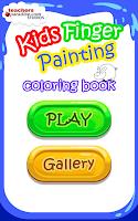 Screenshot of Kids Finger Painting Art Game