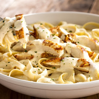 Fettuccine Alfredo Meat Recipes.