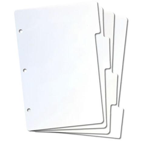 Crafters Companion Mini Tabbed Storage Panels 4/Pkg