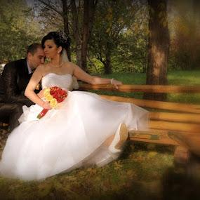 Wedding by Vasiliu Leonard - Wedding Bride & Groom ( fotograf nunta iasi, wedding, luxmariaj, bride,  )