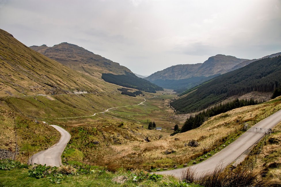 Rest and Be Thankful, Szkocja, Z Glasgow na Wyspę Skye