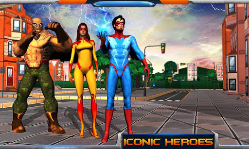 City Heroes 3D: Aliens War