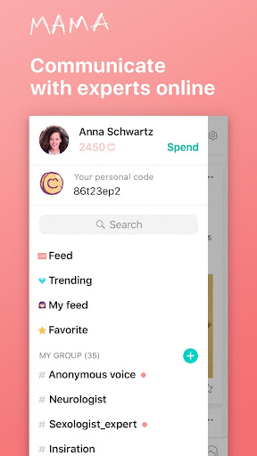 MAMA pregnancy support, new mums, moms, mom to be 1.2.32 screenshots 1