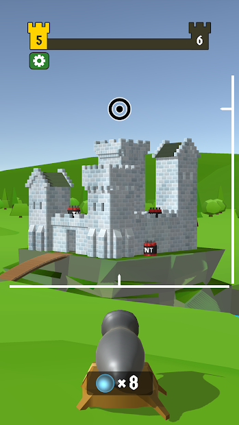 Castle Wreck Android App Screenshot