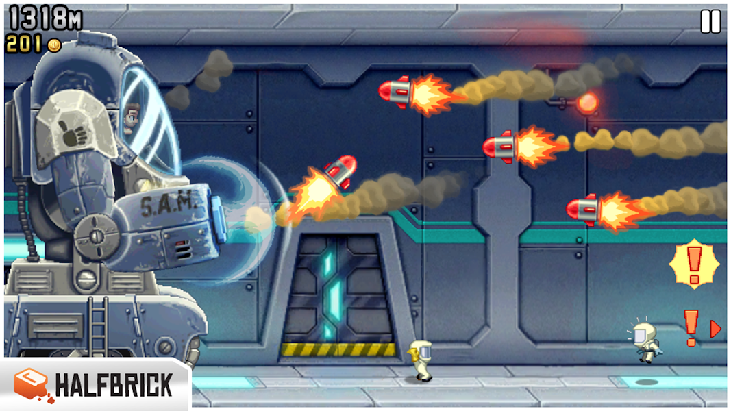 Jetpack Joyride APK Mod v1.8.5 [Unlimited Coins] - screenshot