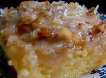 Peachy Pudding Cake