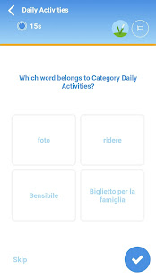 Learn Italian Vocabulary with Vocly