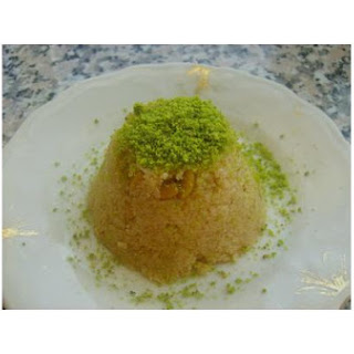 Semolina Dessert (Irmik Helvası).