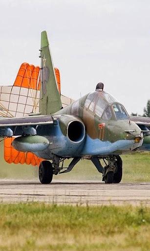 壁紙スホーイSU25航空機