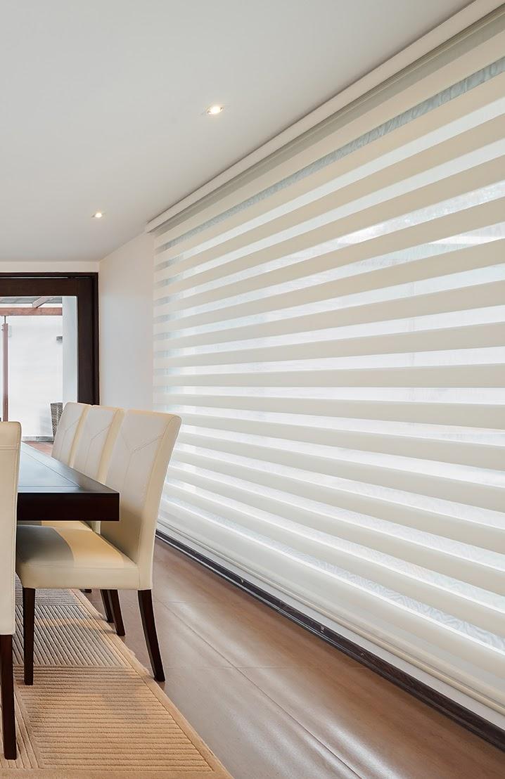Combi Light Filtering Shade Dining Room