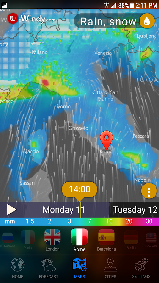 WEATHER NOW - Accurate Forecast Earth 3D & Widgets- screenshot
