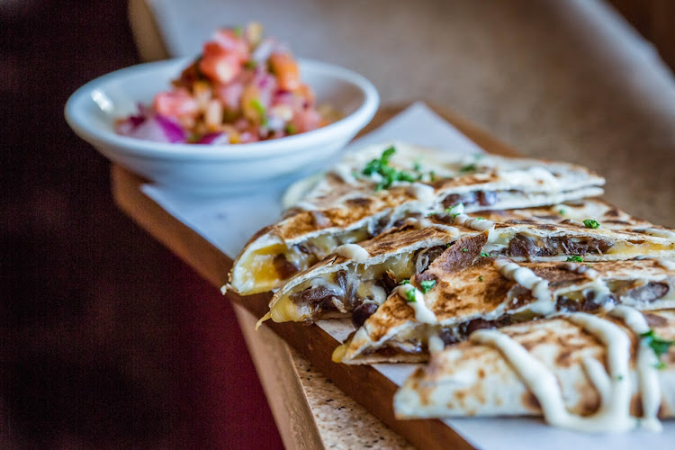 Blind Tiger Cafe serves scrumptious quesadillas.