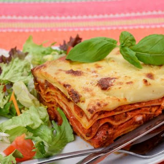 Easy and Cheesy Beef Lasagna