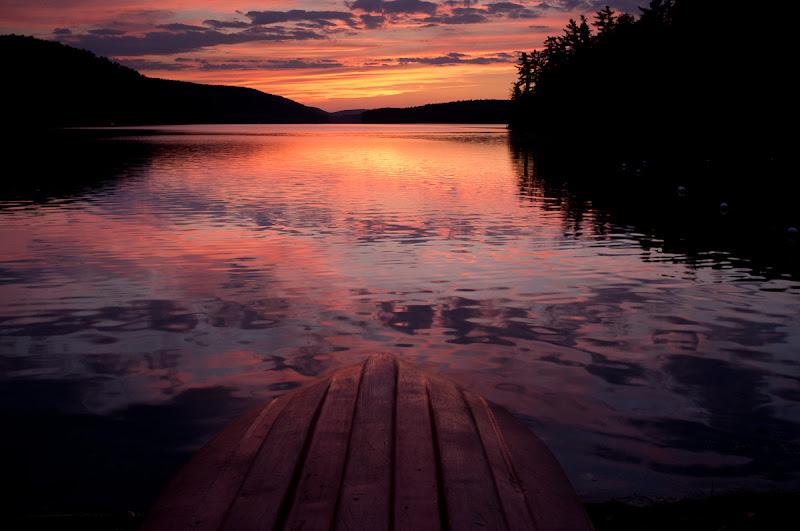Photo: Sunset at Meech Lake