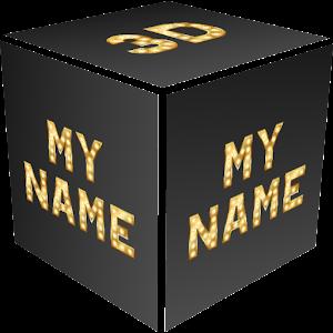 3D My Name Live Wallpaper