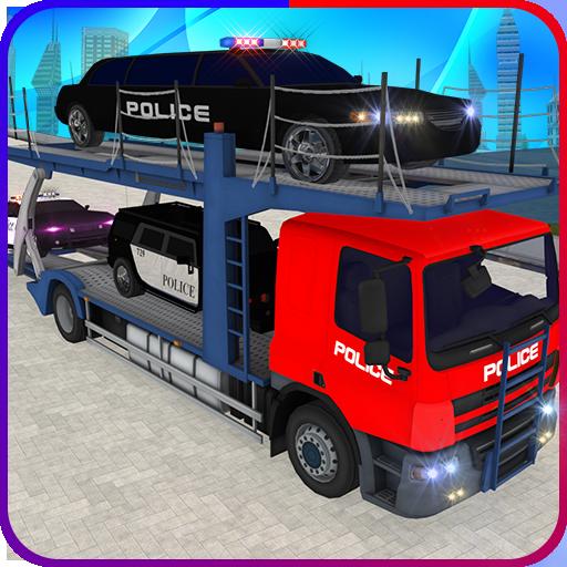 경찰 수송기 트럭 模擬 App LOGO-硬是要APP