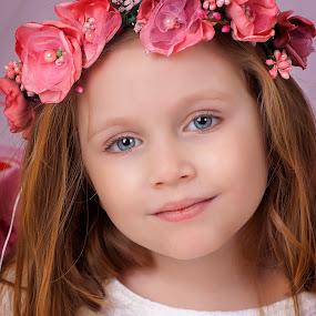 by Anna Anastasova - Babies & Children Child Portraits ( girl child, girl, beautiful, portrait )