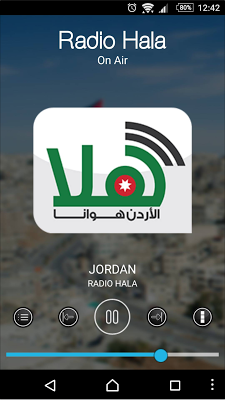 Jordan Radios - screenshot