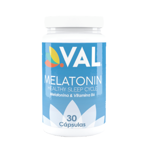 Melatonina +Vitamina B6 Val 30 Cápsulas Val Natural