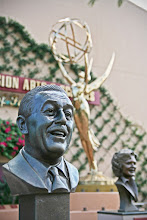 Photo: I Know That Face  As you wander around Echo Lake in Disney's Hollywood Studios in Walt Disney World, you pass by the Academy of Television Arts & Sciences Hall of Fame Plaza. There are all these great busts commemorating various Television pioneers. This one of Walt Disney is of course a very important person to all Disney fans.  The lighting was perfect in the afternoon for this shot. But I love the effect of the statue behind the bust of Walt.  Full Version on Flickr: http://flic.kr/p/cJW8pE  Tags: #WDWPhotoFriday   #WaltDisneyWorld #DisneysHollywoodStudios #WaltDisney